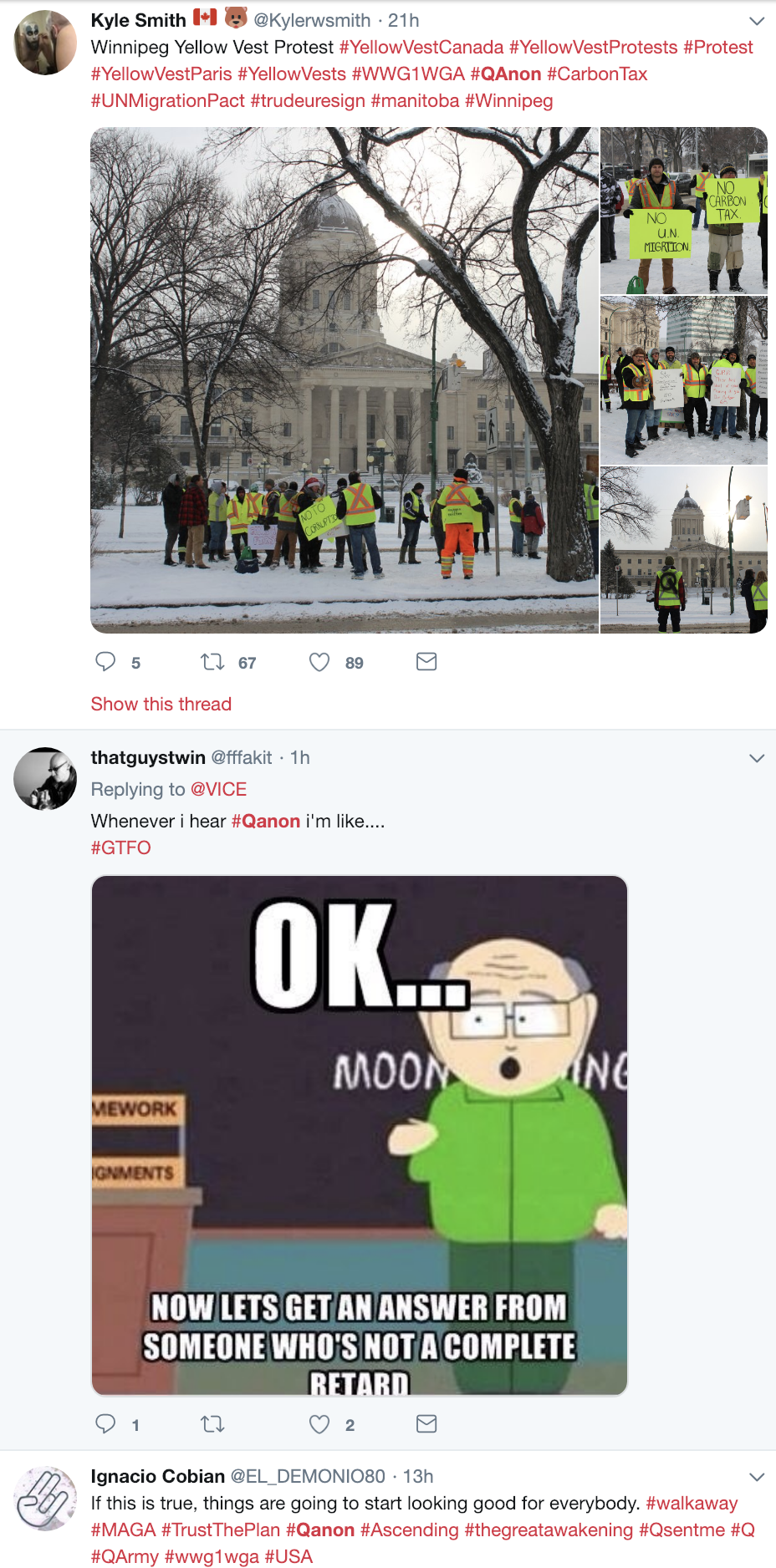 Screen-Shot-2018-12-23-at-10.44.06-AM Trump-Supporting 'QAnon' Conspiracy Theorists Whine About Being Alone For X-Mas Corruption Donald Trump Election 2016 Election 2018 Election 2020 Social Media Top Stories