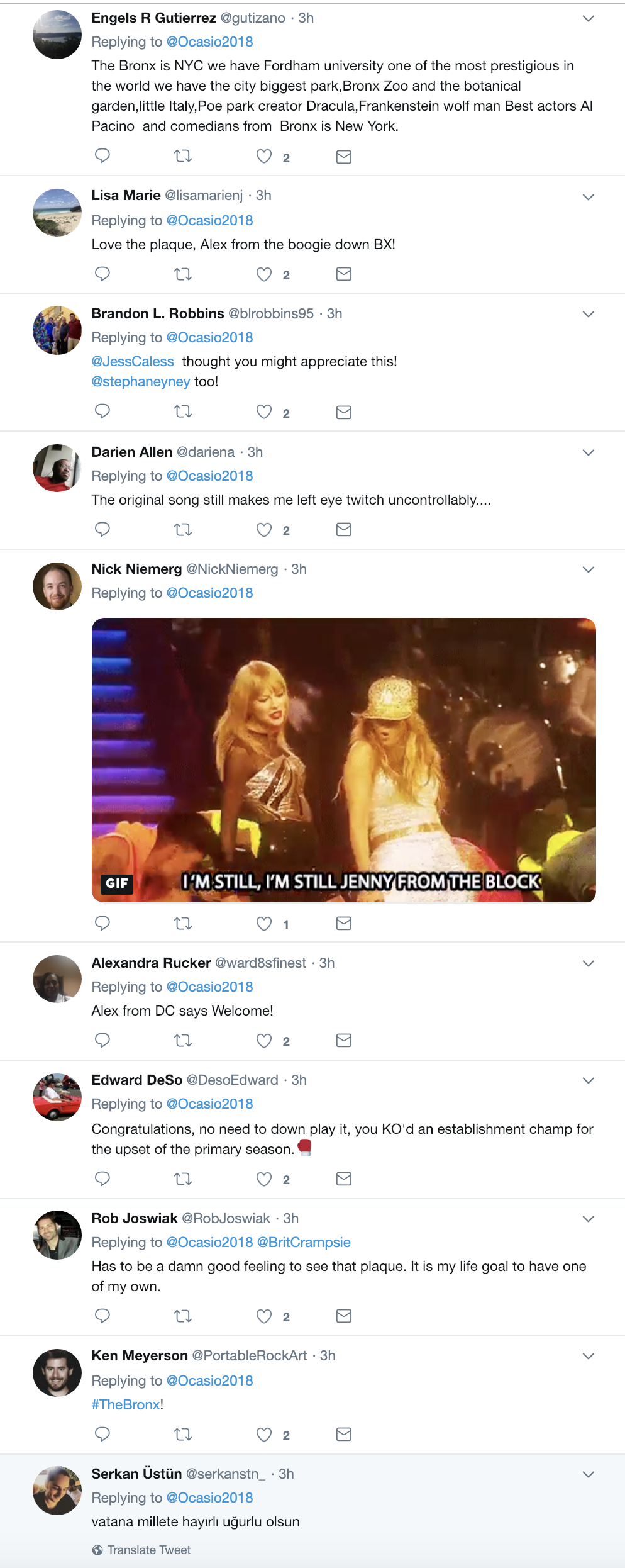 Screen-Shot-2018-12-27-at-12.21.30-PM Ocasio-Cortez Tweets Pic Of Gift From Jennifer Lopez - GOP Heads Explodes Celebrities Election 2018 Music Politics Top Stories