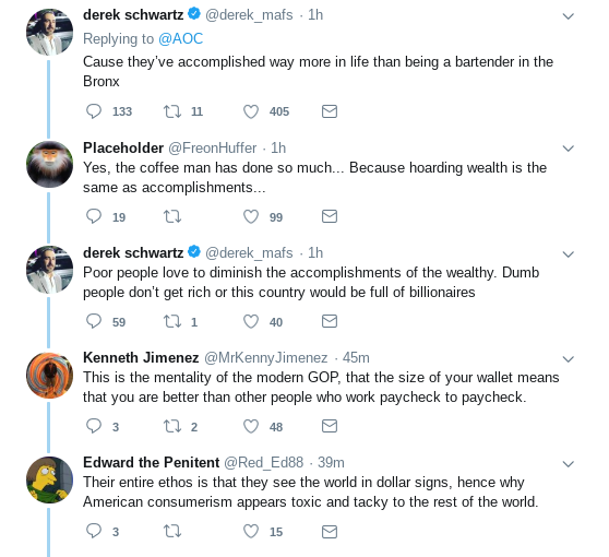Screenshot-2019-01-30-at-11.23.55-AM Ocasio-Cortez Posts Instantly Viral Take-Down Of Howard Schultz & America Is Loving It Donald Trump Election 2020 Politics Social Media Top Stories