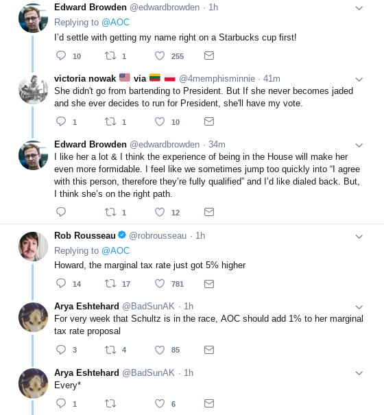 Screenshot-2019-01-30-at-11.25.07-AM Ocasio-Cortez Posts Instantly Viral Take-Down Of Howard Schultz & America Is Loving It Donald Trump Election 2020 Politics Social Media Top Stories
