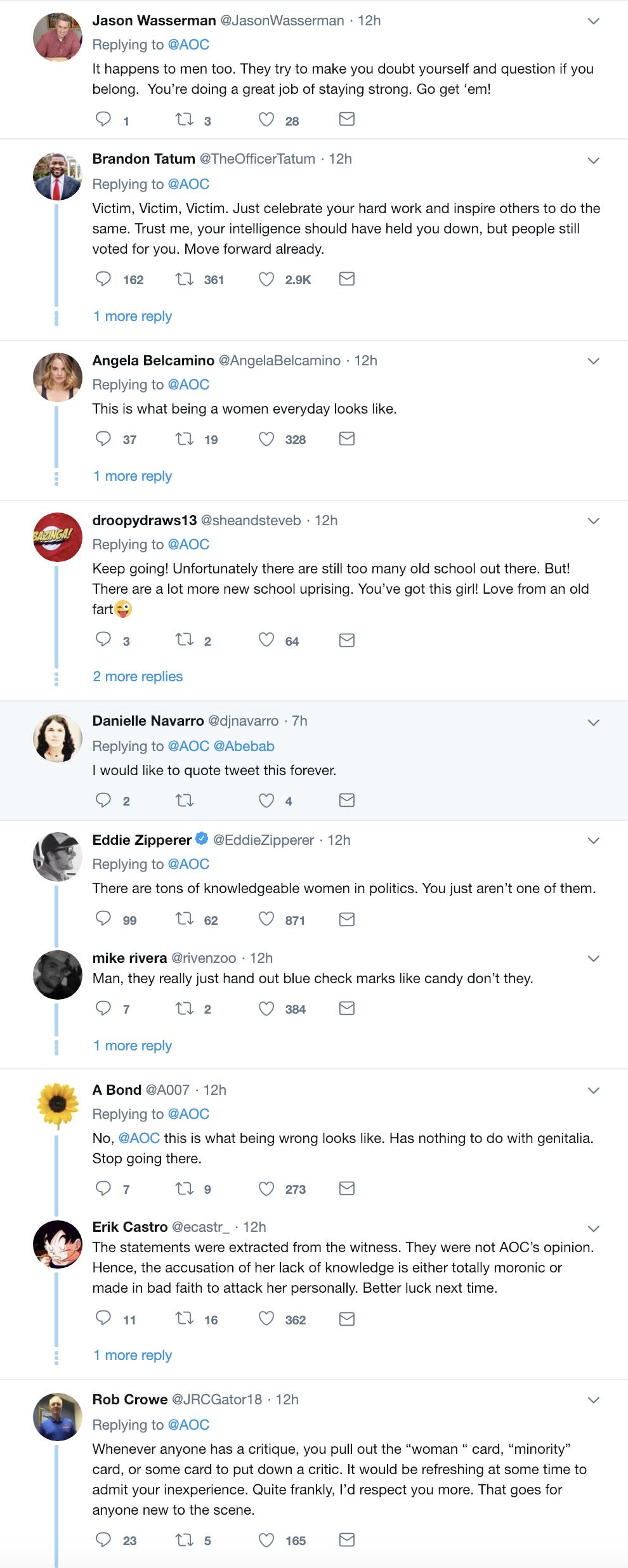 Screen-Shot-2019-02-05-at-9.08.54-AM Ocasio-Cortez Calls Out Attacker Dissing Women Like A Mega Boss Corruption Crime Domestic Policy Donald Trump Healthcare Politics Top Stories