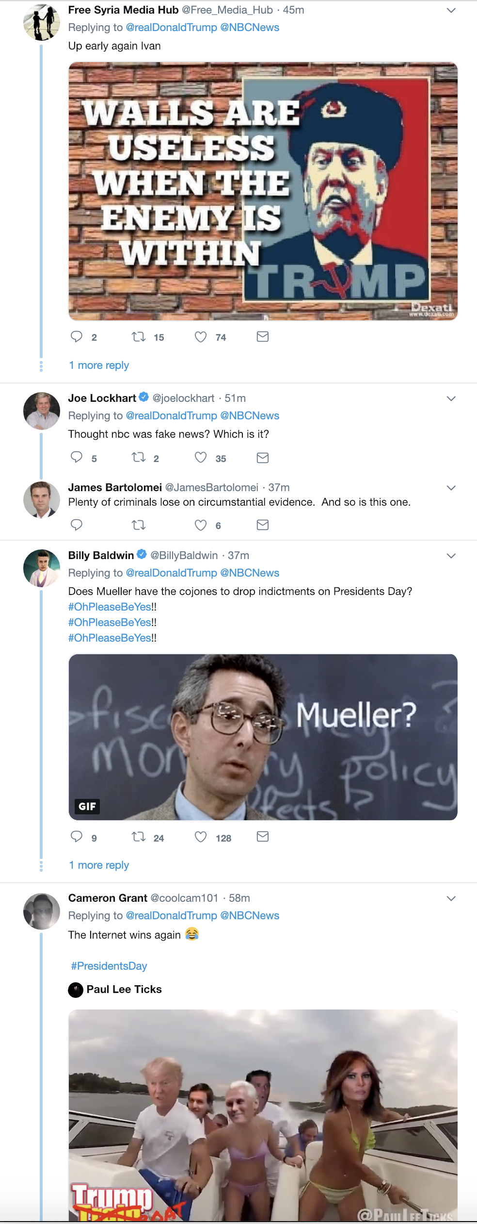 Screen-Shot-2019-02-18-at-6.58.29-AM.png?zoom=2 Trump Erupts Into Multi-Tweet Emotional Breakdown Corruption Crime Donald Trump Media Mueller Politics Robert Mueller Russia Top Stories