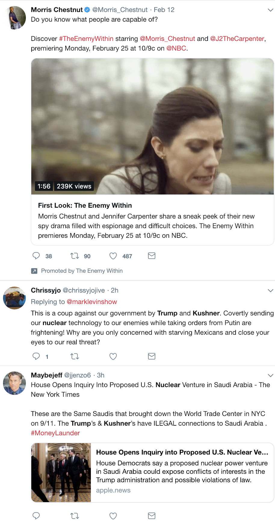Screen-Shot-2019-02-19-at-3.09.48-PM House Oversight Committee Announces New Trump Family Probe Corruption Crime Donald Trump Gun Control Military Politics Top Stories