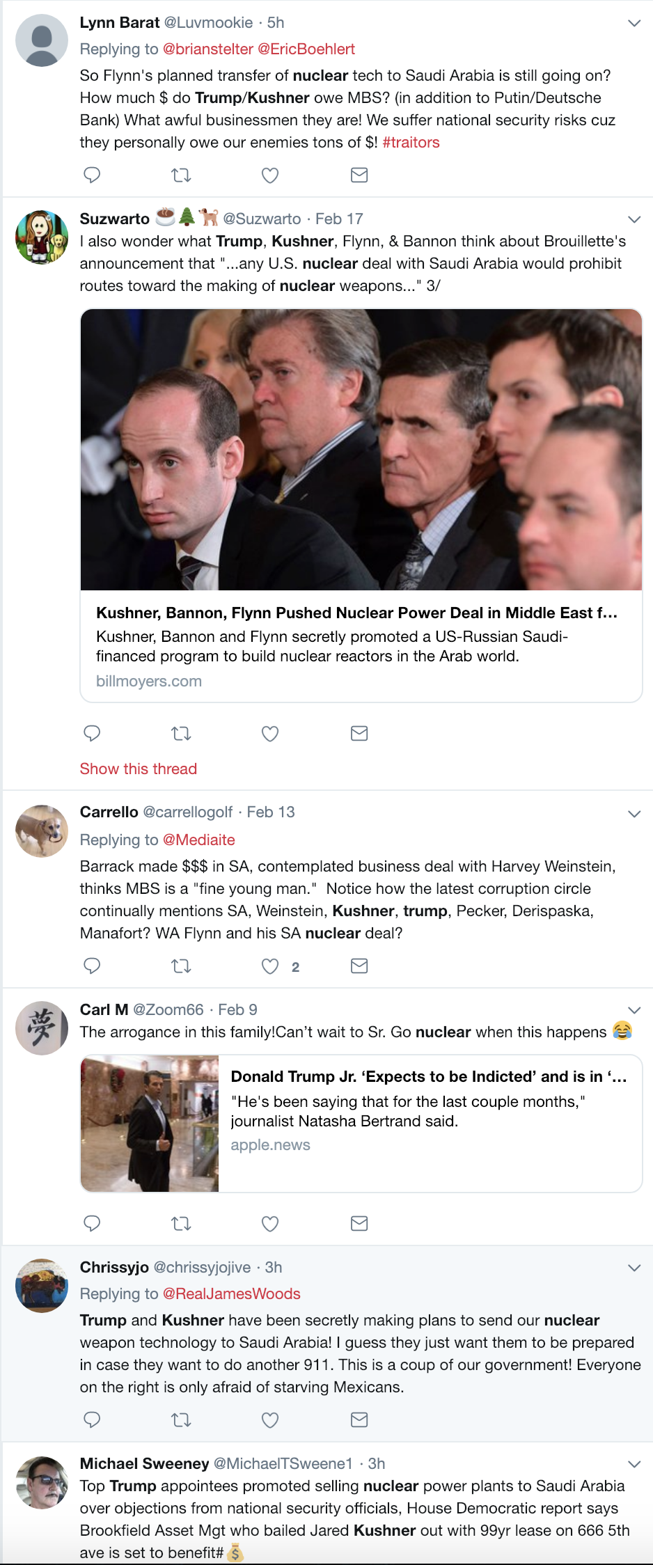 Screen-Shot-2019-02-19-at-3.10.19-PM House Oversight Committee Announces New Trump Family Probe Corruption Crime Donald Trump Gun Control Military Politics Top Stories