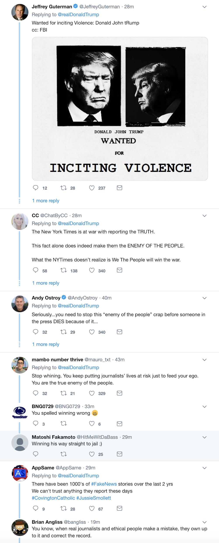 Screen-Shot-2019-02-20-at-8.34.38-AM Trump Continues AM Tweet-Attacks, Puts NY Times In Direct Danger Corruption Crime Donald Trump Media Mueller Politics Robert Mueller Russia Top Stories