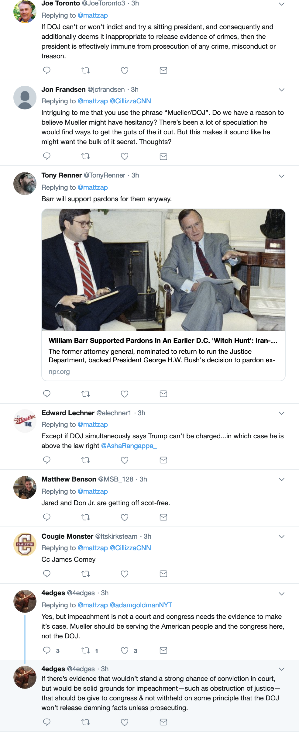 Screen-Shot-2019-02-25-at-4.01.13-PM Deputy AG Rosenstein Makes Cryptic Mueller Remarks & It's On Corruption Crime Donald Trump Election 2016 Election 2020 Mueller Politics Robert Mueller Russia Top Stories