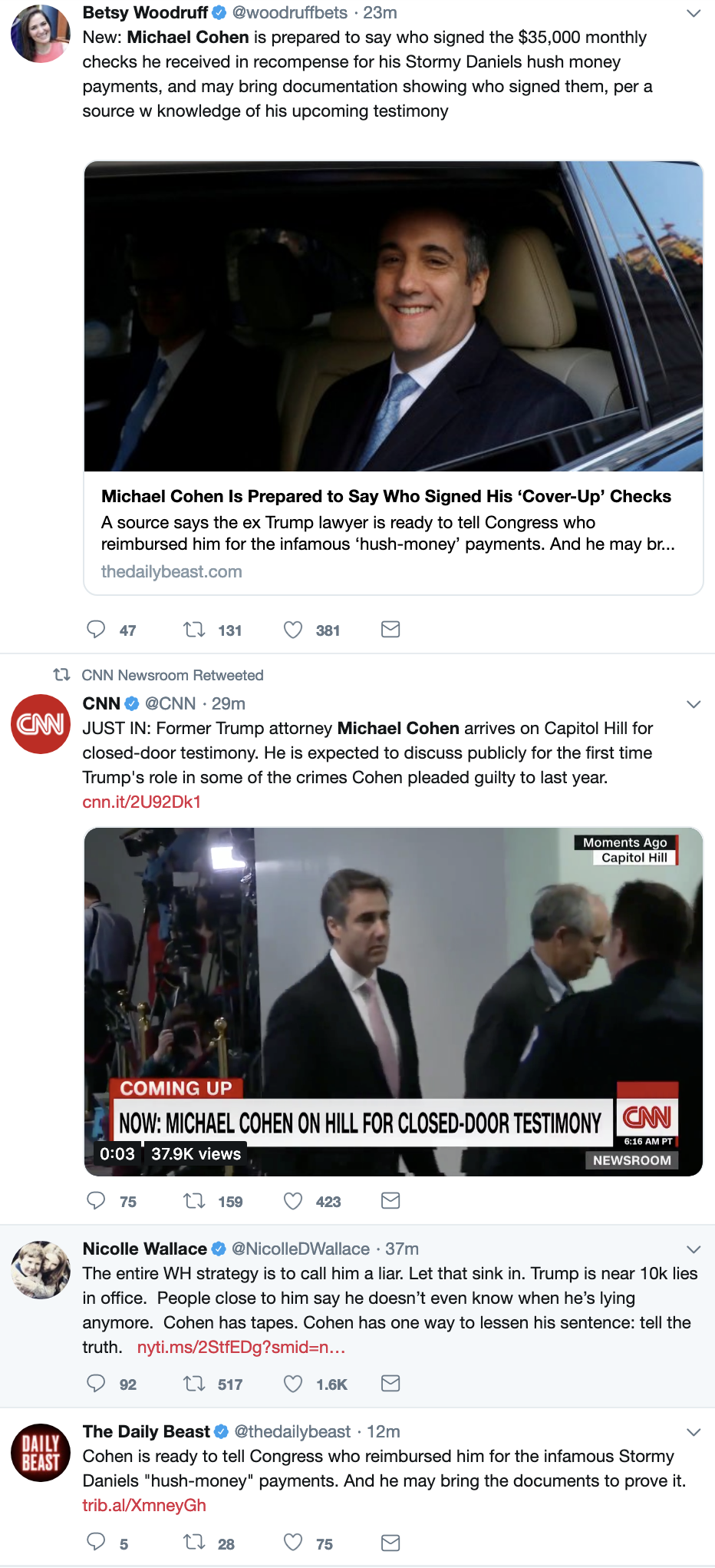 Screen-Shot-2019-02-26-at-8.52.00-AM Cohen To Testify Against Trump's Crimes While In Office In 'Granular Detail' Corruption Crime Donald Trump Election 2016 Mueller Politics Robert Mueller Russia Top Stories