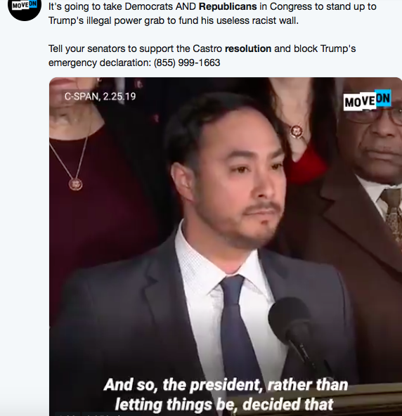 Screen-Shot-2019-03-03-at-1.34.46-PM 4 GOP Senators Defect From Trump & Announce Block To Emergency Declaration Corruption Donald Trump Featured Politics Top Stories