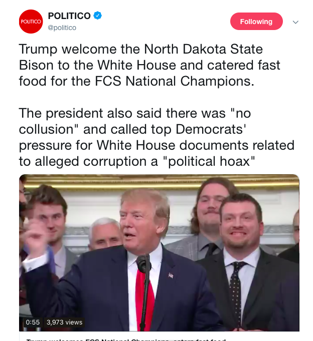 Screen-Shot-2019-03-04-at-12.35.55-PM Trump Serves Fast Food At WH Again Like King Of The Trailer Park Celebrities Corruption Donald Trump Featured Politics Top Stories