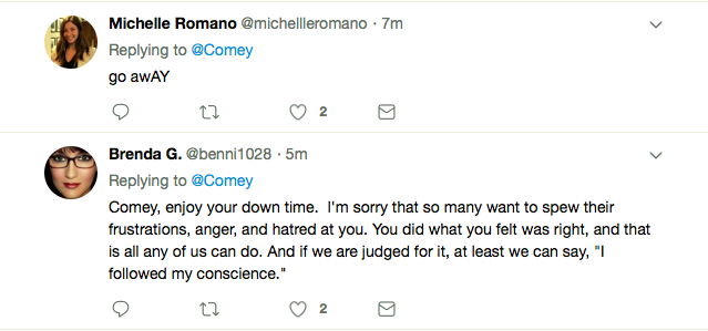 Screen-Shot-2019-03-24-at-7.05.31-PM James Comey Tweets Cryptic Mueller Report Response To America Corruption Domestic Policy Featured Politics Robert Mueller Social Media Top Stories