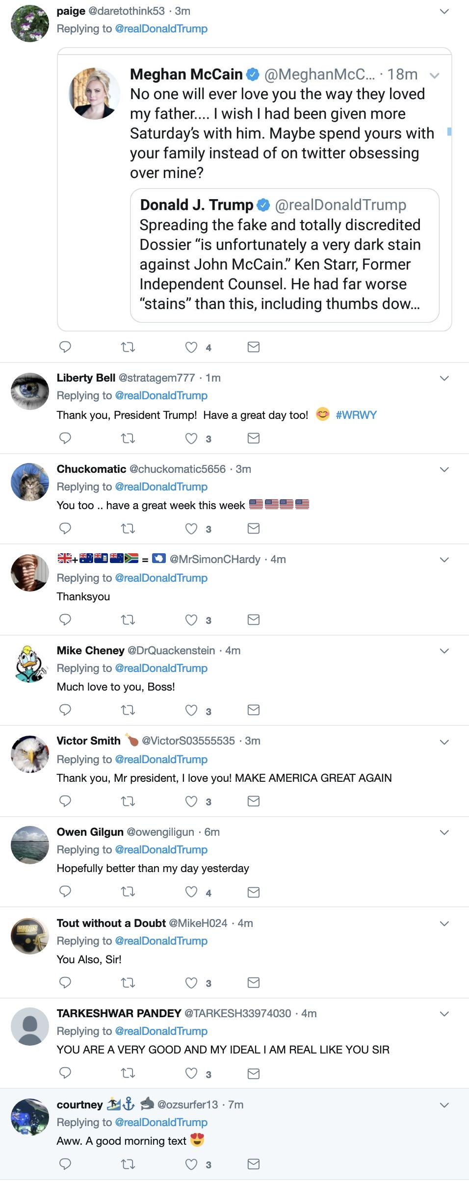 Screen-Shot-2019-03-24-at-7.10.33-AM Trump Flops Awake, Gets Online, & Tweets Sunday Morning Gibberish To America Corruption Crime Donald Trump Mueller Politics Robert Mueller Russia Top Stories