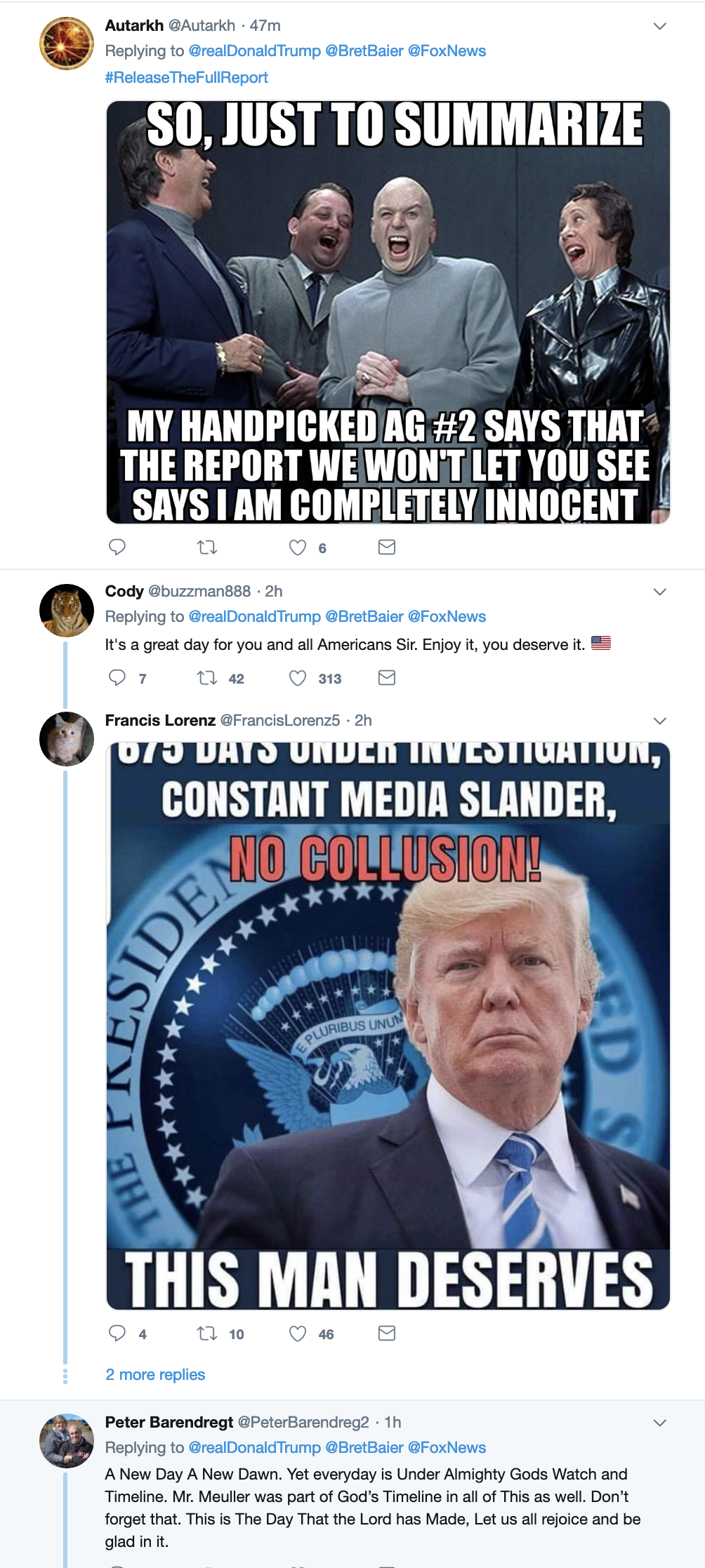Screen-Shot-2019-03-25-at-6.48.49-AM Trump Rockets Out Of Bed To Unleash Monday A.M. Mueller Rant Corruption Crime Donald Trump Mueller Politics Robert Mueller Russia Top Stories