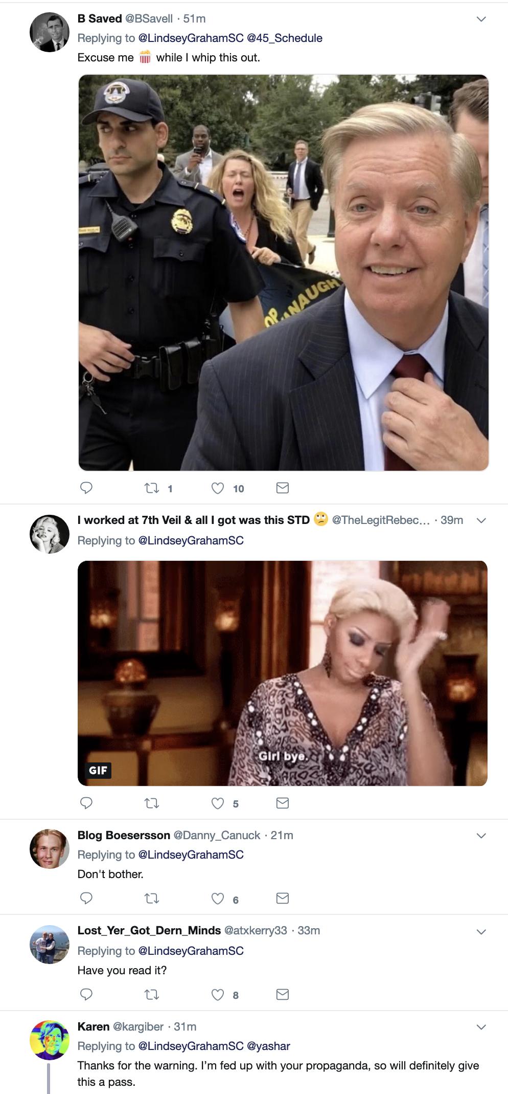 Screen-Shot-2019-03-25-at-8.53.06-AM Graham Makes Mueller Report Announcement On Twitter Monday Corruption Crime Donald Trump Election 2016 Mueller Politics Robert Mueller Russia Top Stories