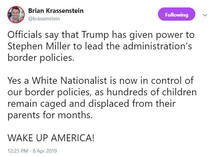 Miller2 Democrat Ilhan Omar Calls Stephen Miller A Nazi - Snowflakes Melt Donald Trump Featured Immigration National Security Racism Top Stories