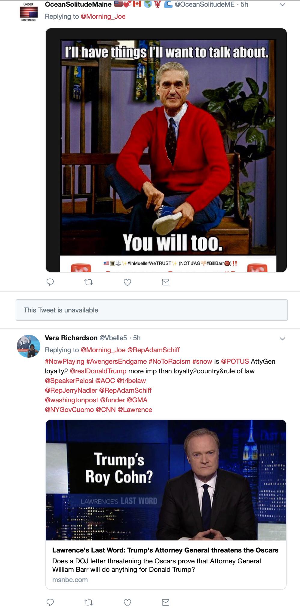 Screen-Shot-2019-04-03-at-1.29.41-PM House Intel Chair Taunts Trump With Mueller Testimony Announcement Corruption Crime Donald Trump Investigation Mueller Politics Robert Mueller Russia Top Stories