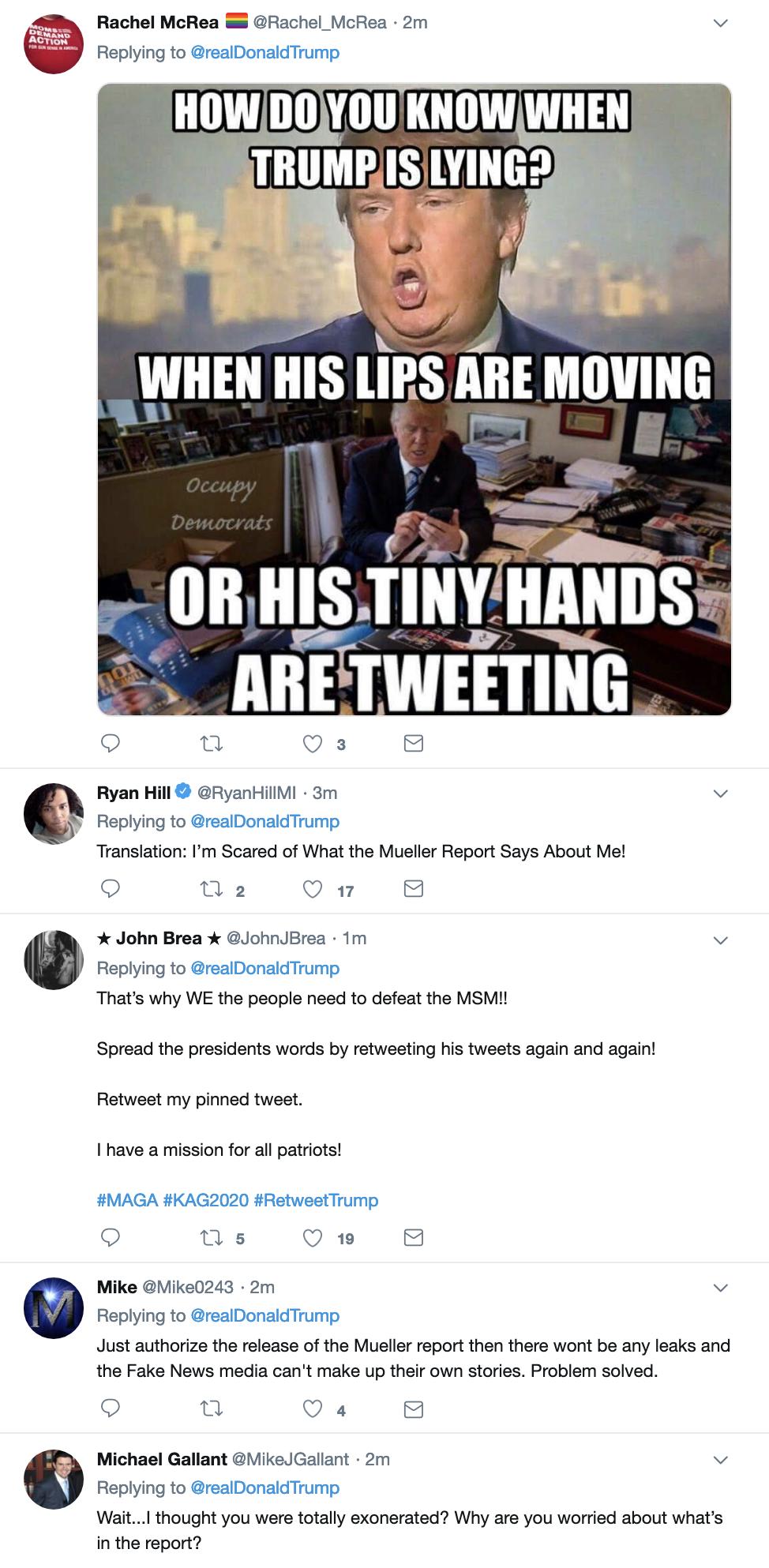 Screen-Shot-2019-04-07-at-8.54.37-AM Trump Finishes Sunday TV & Live Tweets Rage Filled Emotional Collapse Corruption Crime Donald Trump Election 2016 Investigation Media Mueller Politics Robert Mueller Russia Top Stories