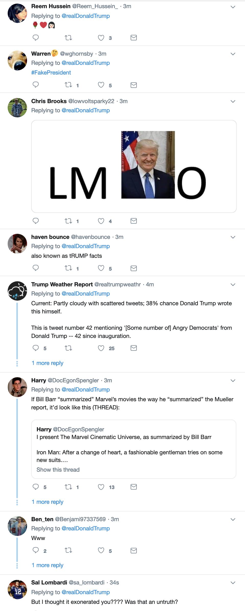 Screen-Shot-2019-04-07-at-8.55.01-AM Trump Finishes Sunday TV & Live Tweets Rage Filled Emotional Collapse Corruption Crime Donald Trump Election 2016 Investigation Media Mueller Politics Robert Mueller Russia Top Stories
