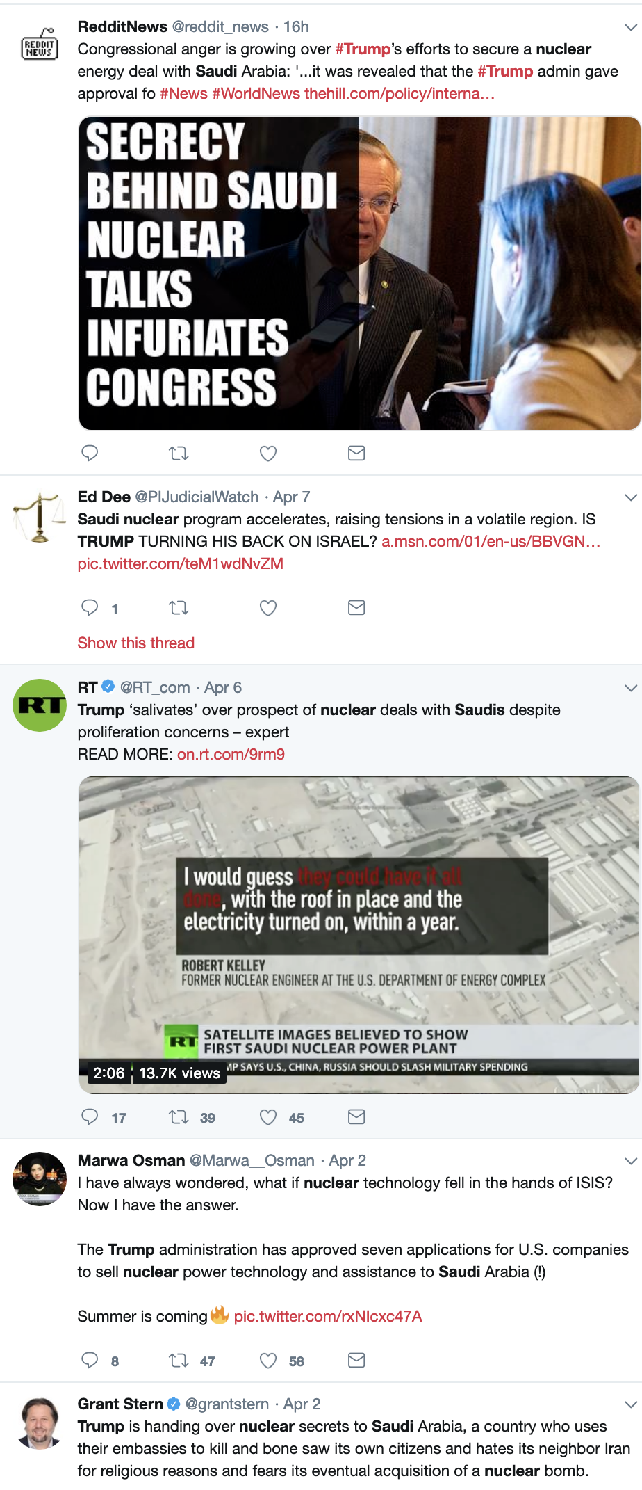 Screen-Shot-2019-04-08-at-9.06.43-AM Trump Deal To Sell U.S. Nuclear Secrets Uncovered & Announced By 'Daily Beast' Child Abuse Corruption Crime Donald Trump Featured Politics Top Stories