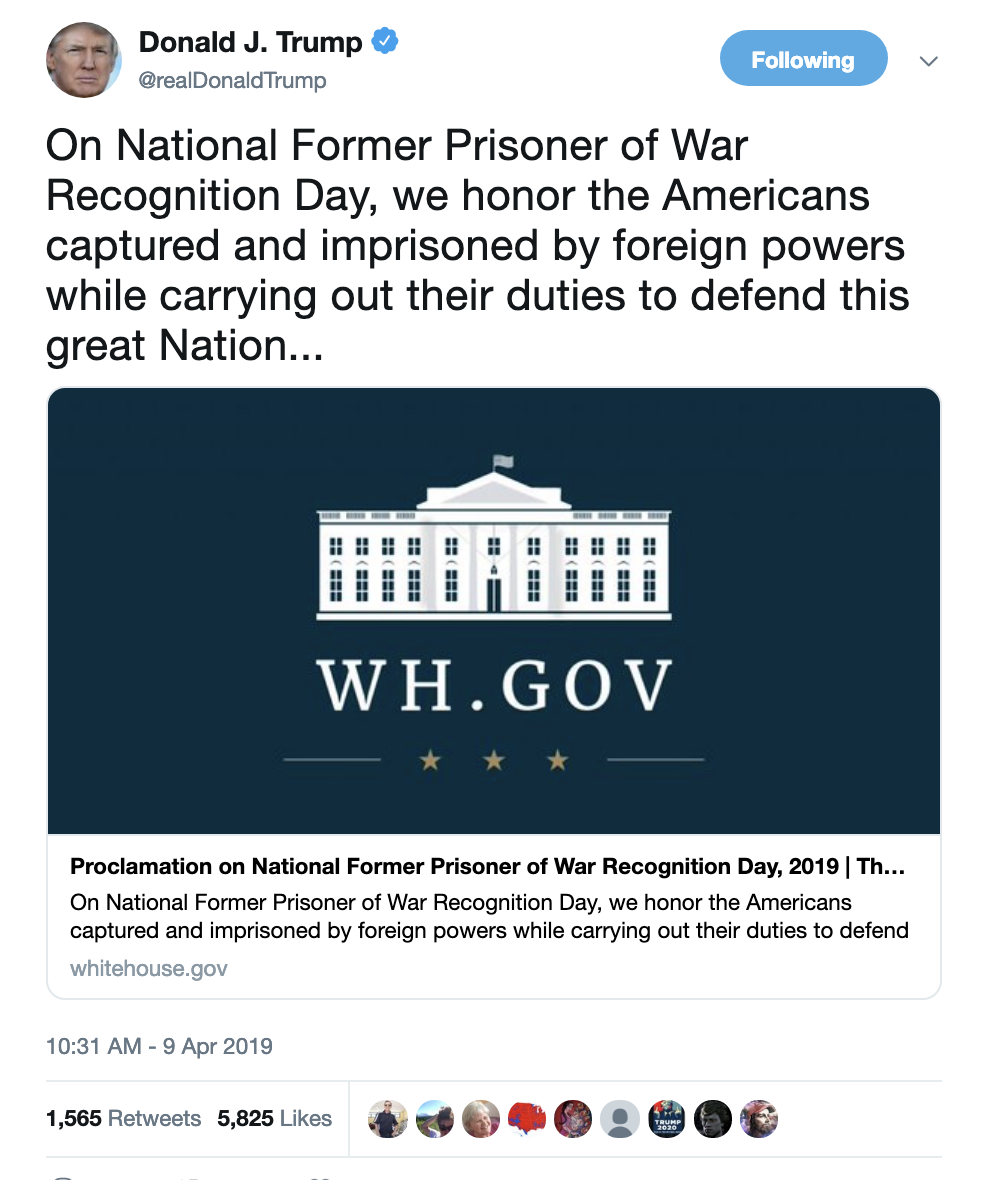 Screen-Shot-2019-04-09-at-10.41.20-AM Trump Makes An Ass Of Himself On Twitter Like An Old Bigot Corruption Crime Domestic Policy Donald Trump Politics Social Media Top Stories