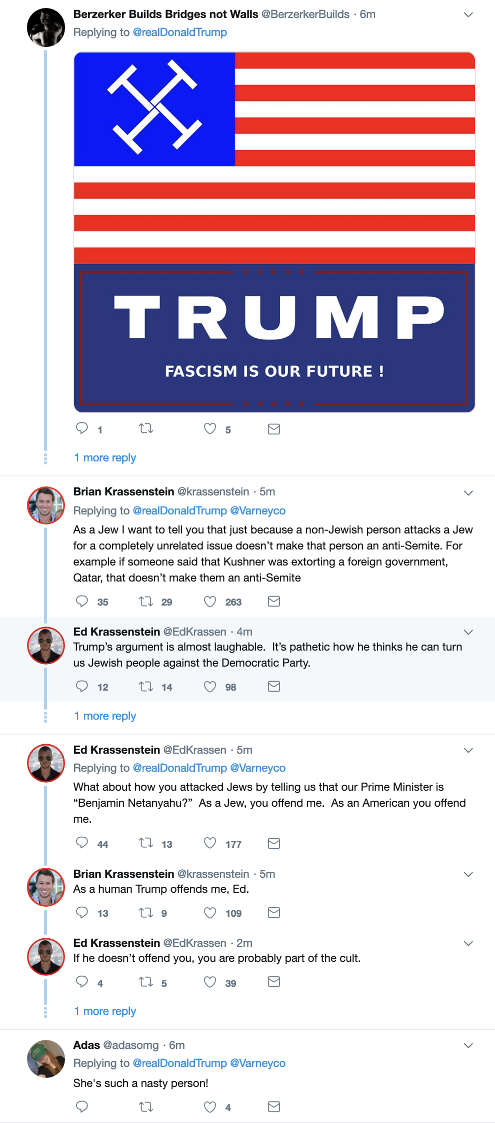 Screen-Shot-2019-04-09-at-10.44.16-AM Trump Makes An Ass Of Himself On Twitter Like An Old Bigot Corruption Crime Domestic Policy Donald Trump Politics Social Media Top Stories
