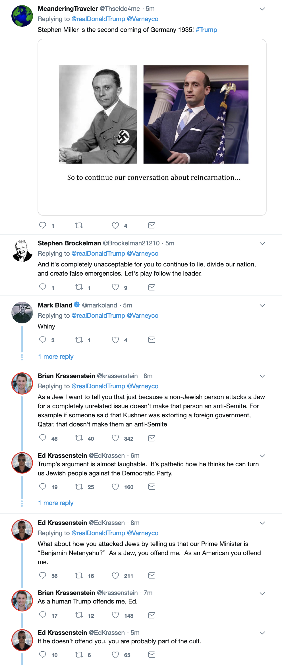 Screen-Shot-2019-04-09-at-10.47.49-AM Trump Makes An Ass Of Himself On Twitter Like An Old Bigot Corruption Crime Domestic Policy Donald Trump Politics Social Media Top Stories