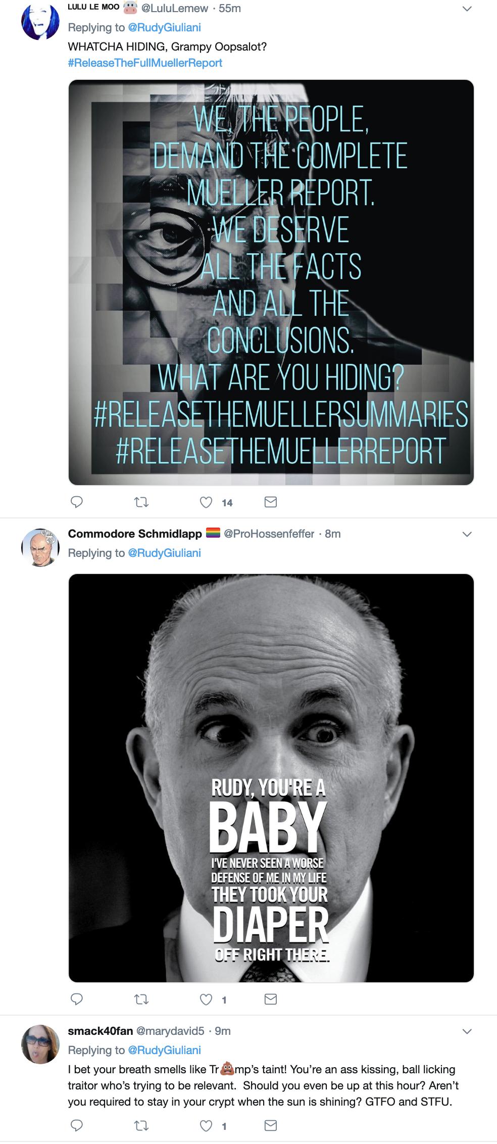 Screen-Shot-2019-04-10-at-2.28.55-PM Giuliani Creates PR Nightmare For Trump During Bizarre Twitter Meltdown Corruption Crime Donald Trump Politics Top Stories