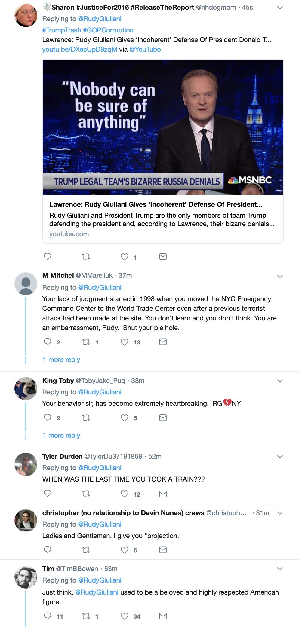 Screen-Shot-2019-04-10-at-2.32.51-PM Giuliani Creates PR Nightmare For Trump During Bizarre Twitter Meltdown Corruption Crime Donald Trump Politics Top Stories