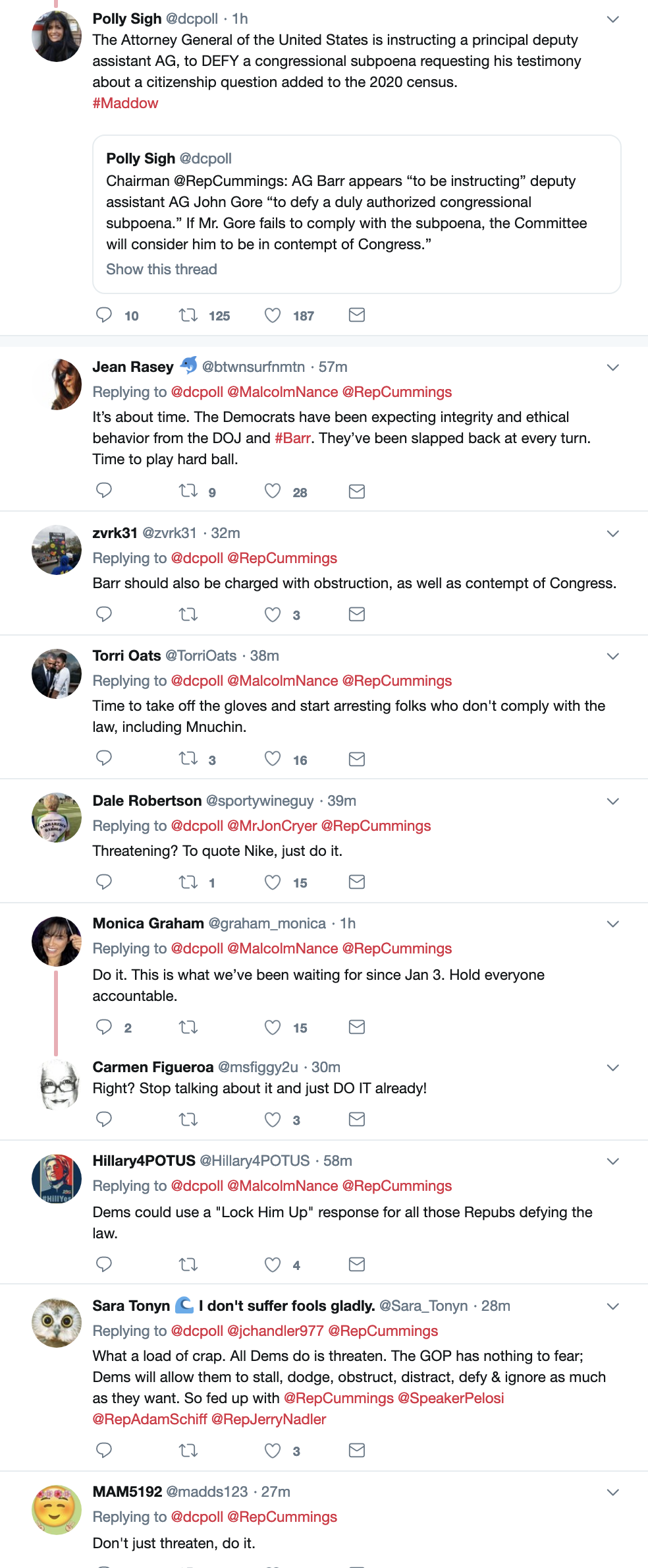 Screen-Shot-2019-04-11-at-3.25.50-PM Elijah Cummings Takes On AG Barr With Contempt of Congress Corruption Crime Domestic Policy Donald Trump Election 2020 Top Stories