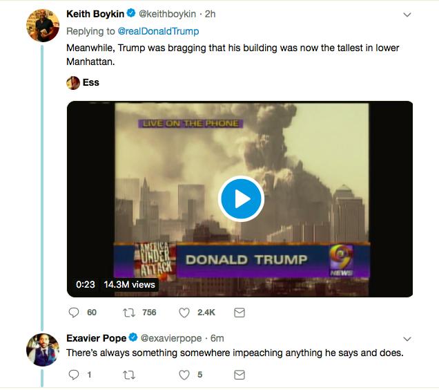 Screen-Shot-2019-04-12-at-7.54.38-PM Trump Incites Violence Against Rep. Omar With Friday Tweet Donald Trump Islamaphobia Racism Social Media Top Stories