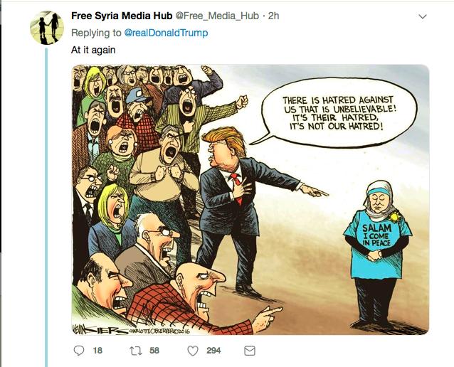 Screen-Shot-2019-04-12-at-7.55.48-PM Trump Incites Violence Against Rep. Omar With Friday Tweet Donald Trump Islamaphobia Racism Social Media Top Stories