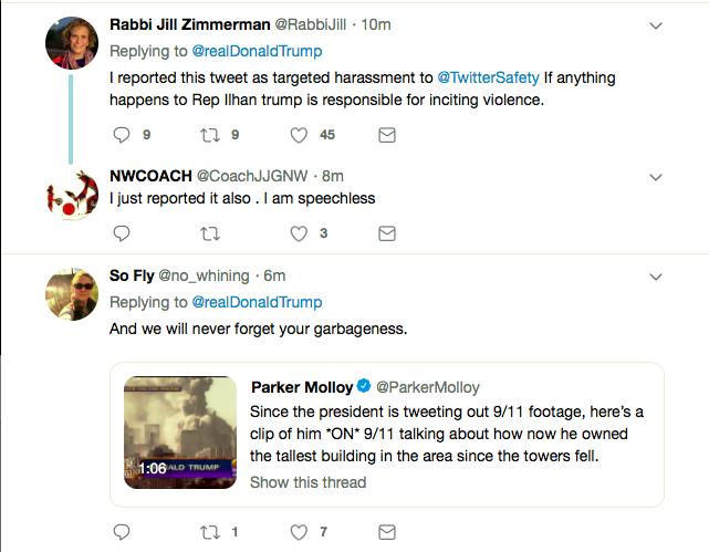 Screen-Shot-2019-04-12-at-7.59.04-PM Trump Incites Violence Against Rep. Omar With Friday Tweet Donald Trump Islamaphobia Racism Social Media Top Stories