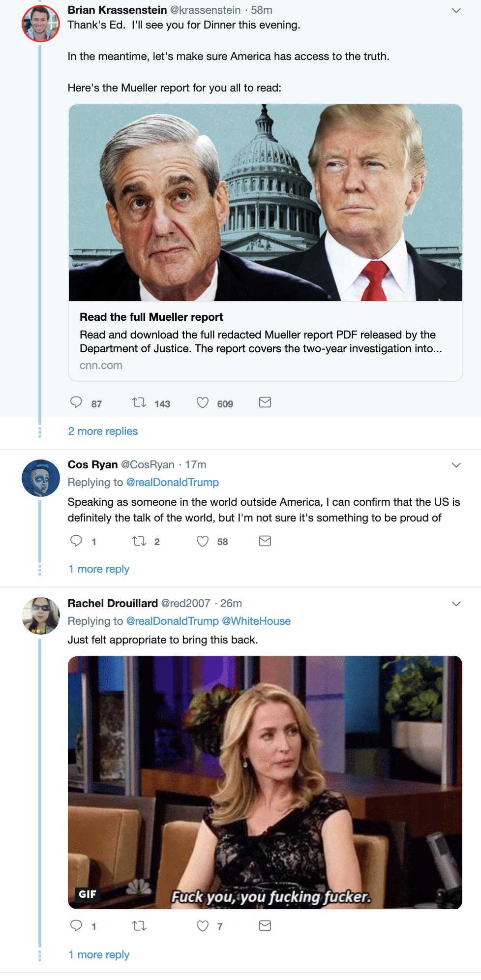 Screen-Shot-2019-04-21-at-7.07.26-AM Trump Wakes Up & Suffers 5-Tweet Easter Sunday Mental Collapse Corruption Crime Donald Trump Investigation Mueller Politics Robert Mueller Russia Top Stories