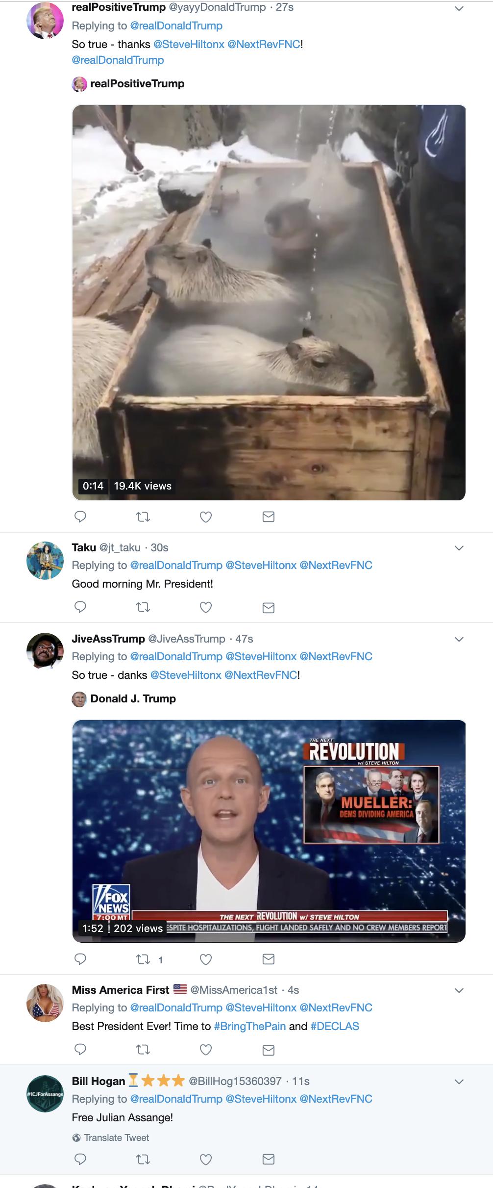 Screen-Shot-2019-04-22-at-7.54.15-AM Trump Embarrasses Himself On Twitter After Binge Watching Fox News Corruption Crime Donald Trump Investigation Mueller Politics Robert Mueller Russia Top Stories