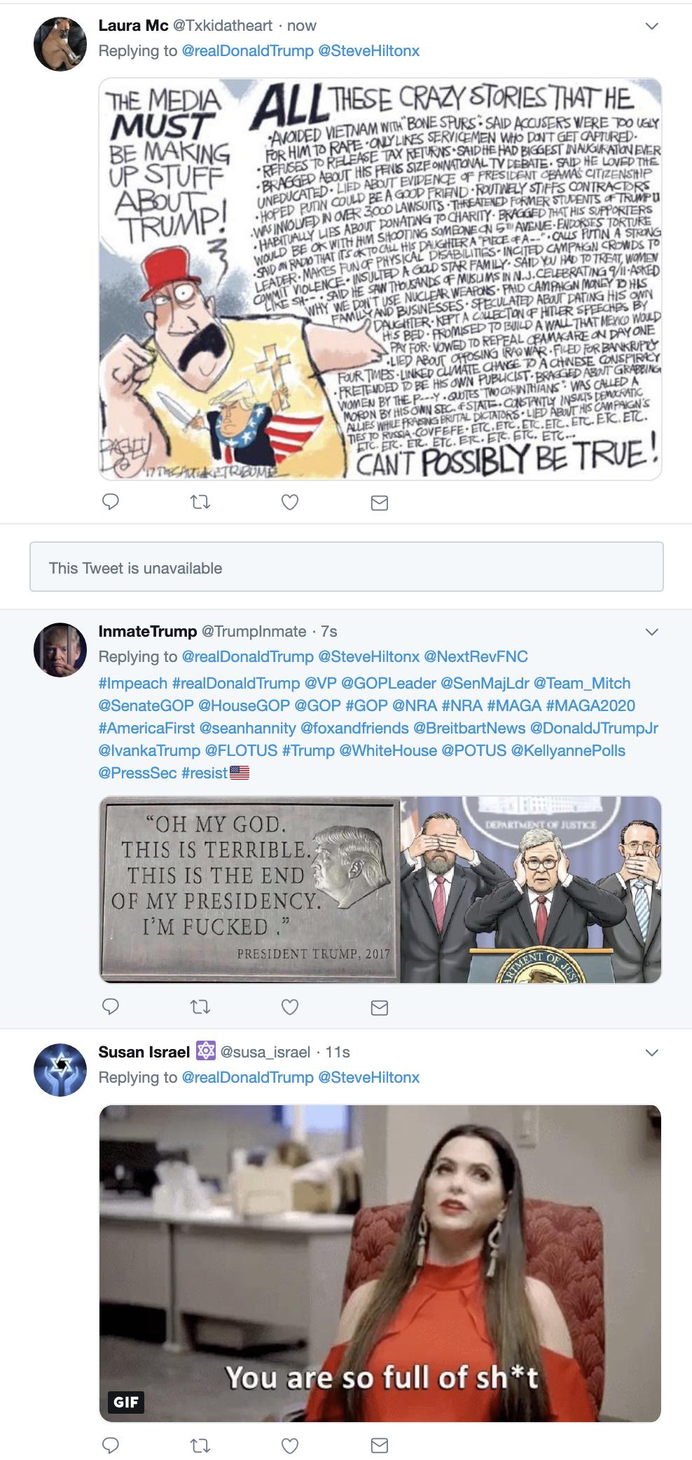 Screen-Shot-2019-04-22-at-7.55.12-AM Trump Embarrasses Himself On Twitter After Binge Watching Fox News Corruption Crime Donald Trump Investigation Mueller Politics Robert Mueller Russia Top Stories