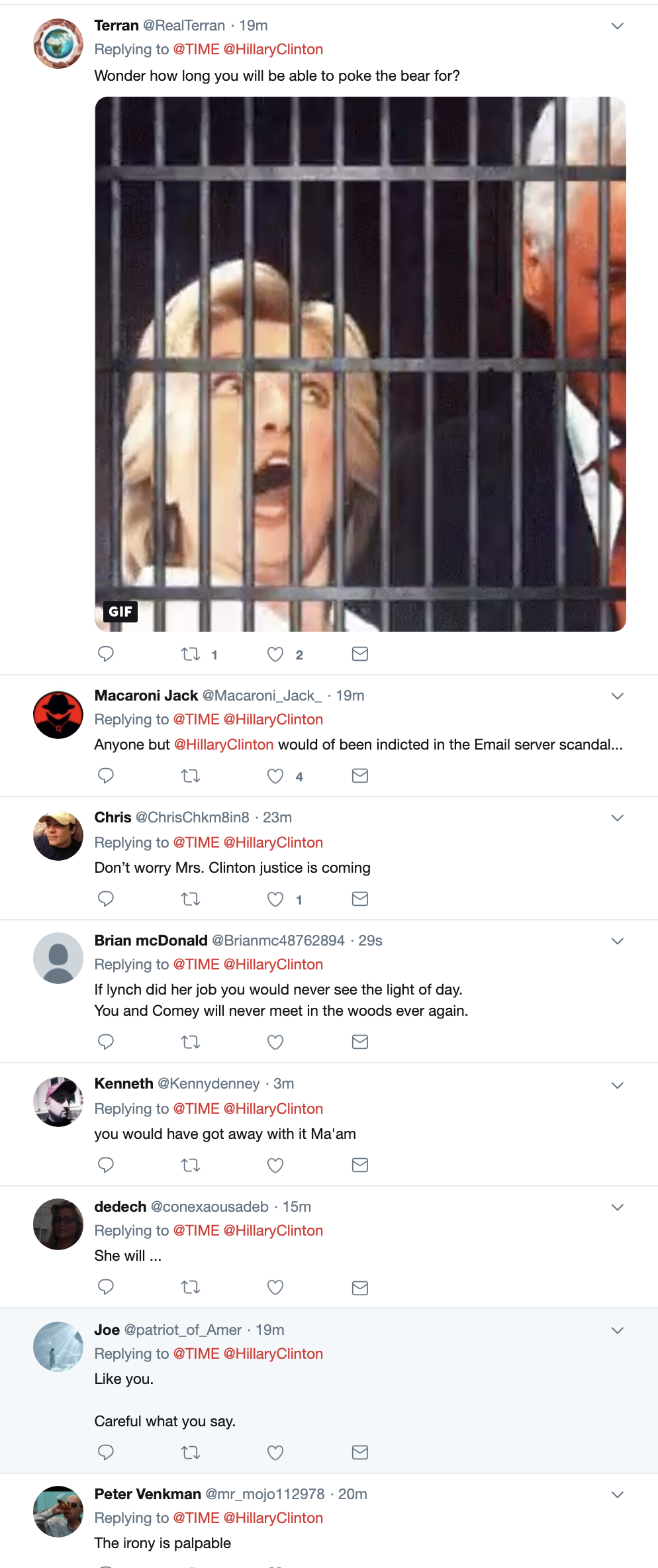 Screen-Shot-2019-04-23-at-3.06.24-PM Hillary Talks About Trump Going To Prison & People Lose Their Sh*t Corruption Crime Donald Trump Election 2016 Investigation Mueller Politics Robert Mueller Russia Top Stories