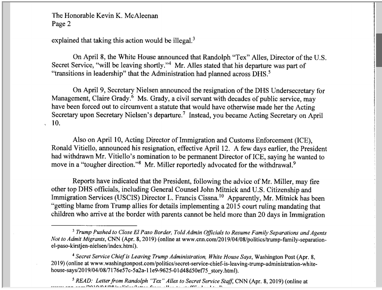 Screen-Shot-2019-04-25-at-2.18.52-PM House Committee Chairs Demand Answers From Homeland Security Corruption Crime Donald Trump Immigration Investigation Politics Racism Refugees Top Stories