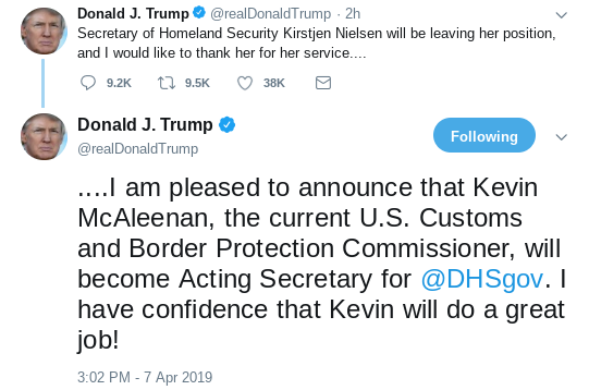 Screenshot-2019-04-07-at-8.04.51-PM Another Top Trump Cabinet Official Suddenly Bites The Dust Donald Trump Immigration Politics Top Stories