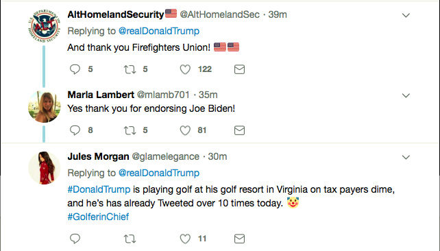 Screen-Shot-2019-05-04-at-2.37.52-PM Trump Tweets About Firefighters Again & Everyone Goes Batsh*t Donald Trump Featured Politics Top Stories Twitter