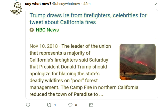 Screen-Shot-2019-05-04-at-2.41.20-PM Trump Tweets About Firefighters Again & Everyone Goes Batsh*t Donald Trump Featured Politics Top Stories Twitter
