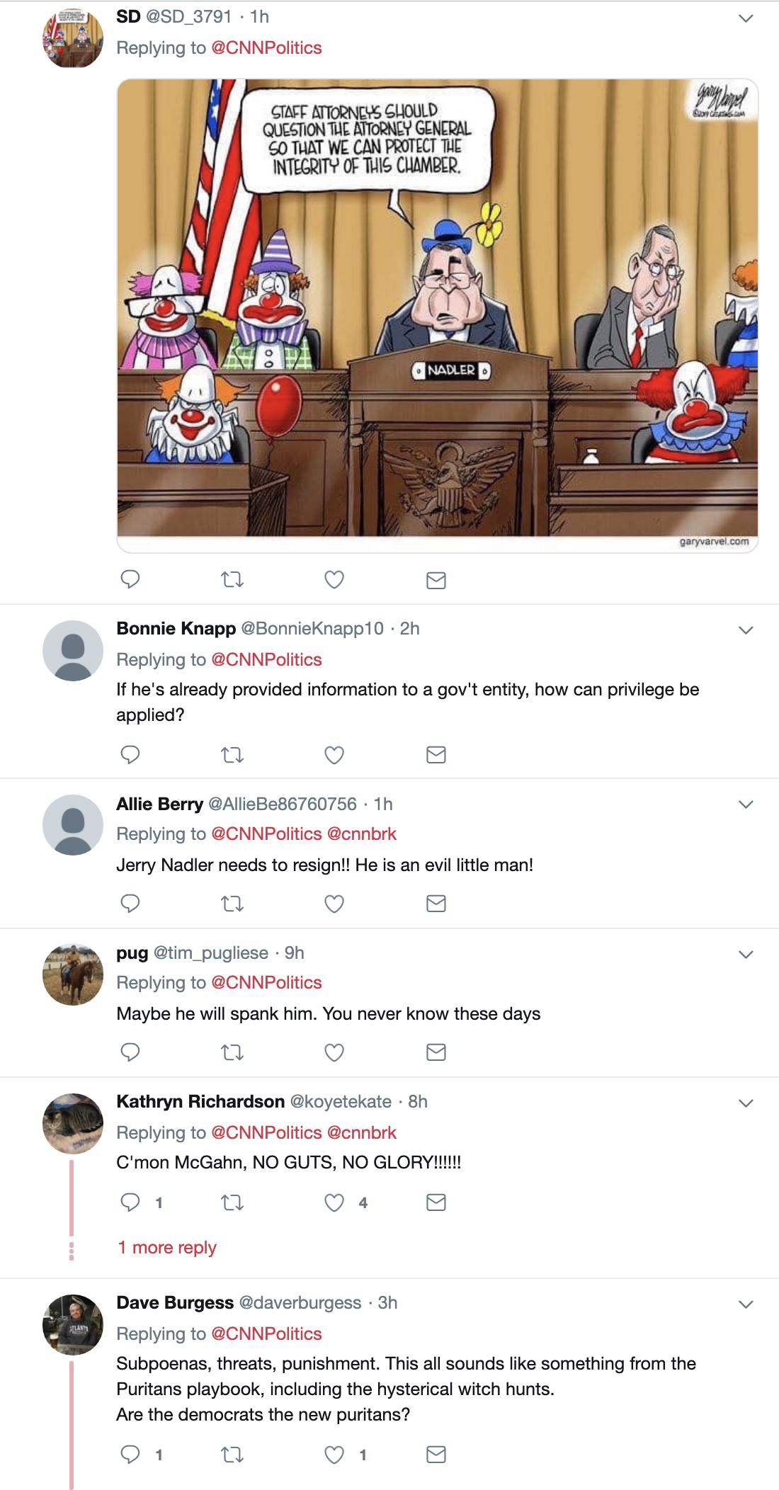 Screen-Shot-2019-05-21-at-8.33.33-AM Nadler To Punish Don McGahn As WH Blocks Judiciary Testimony Corruption Crime Donald Trump Impeachment Investigation Mueller Politics Robert Mueller Russia Top Stories