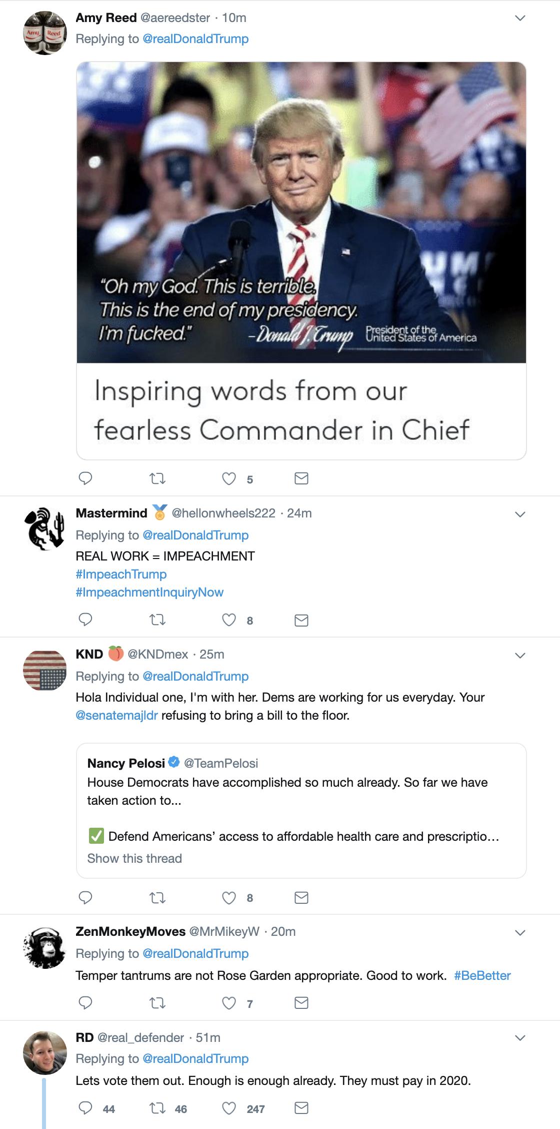 Screen-Shot-2019-05-23-at-10.21.10-AM Trump Tantrums Online Like A Feeble Child & Gets Slammed Instantly Corruption Crime Donald Trump Investigation Mueller Politics Robert Mueller Russia Top Stories