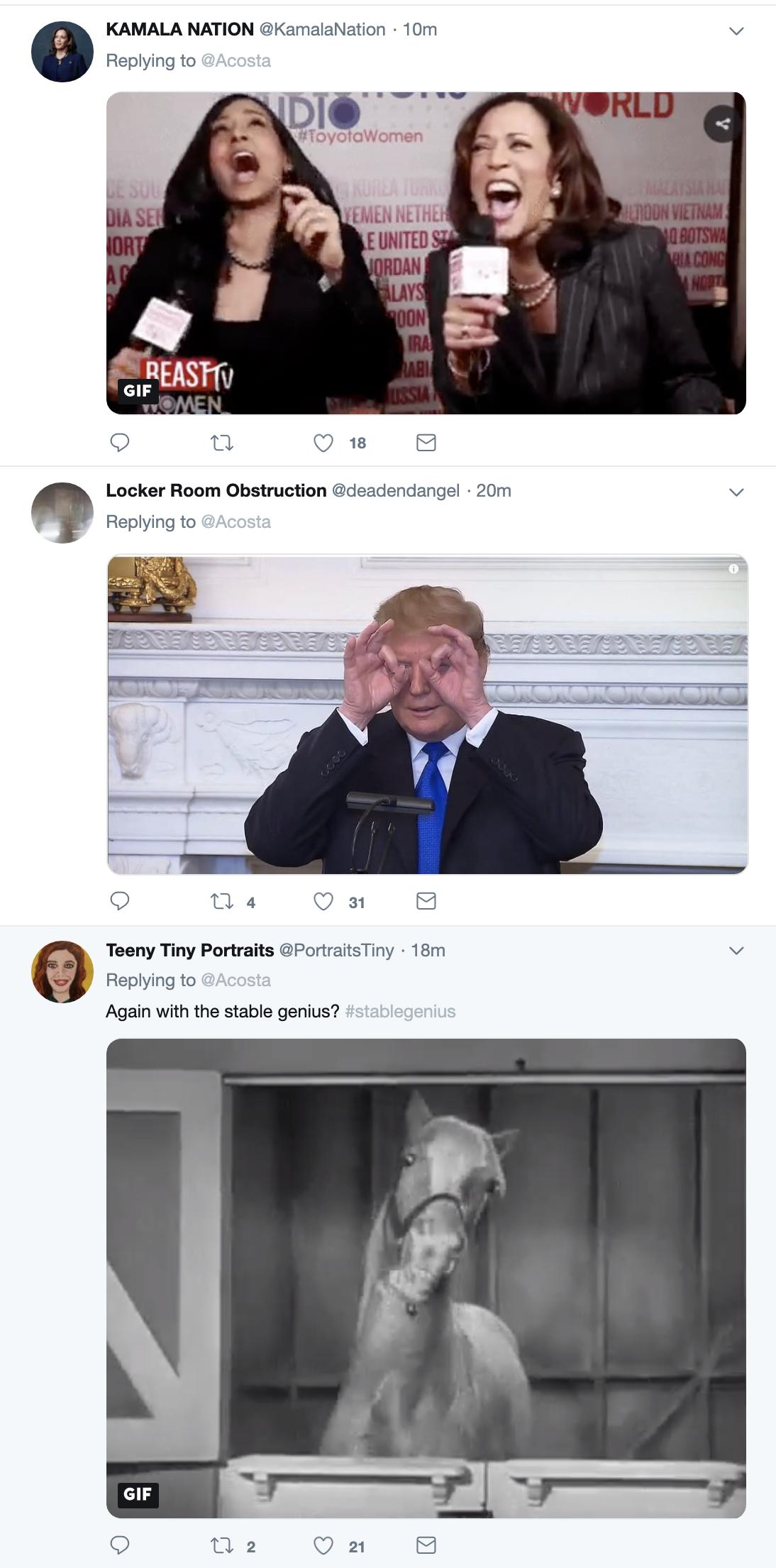 Screen-Shot-2019-05-23-at-3.43.05-PM Jim Acosta Master-Trolls Trump Like A Badass As Donald Rages On Corruption Crime Donald Trump Election 2020 Mental Illness Politics Top Stories