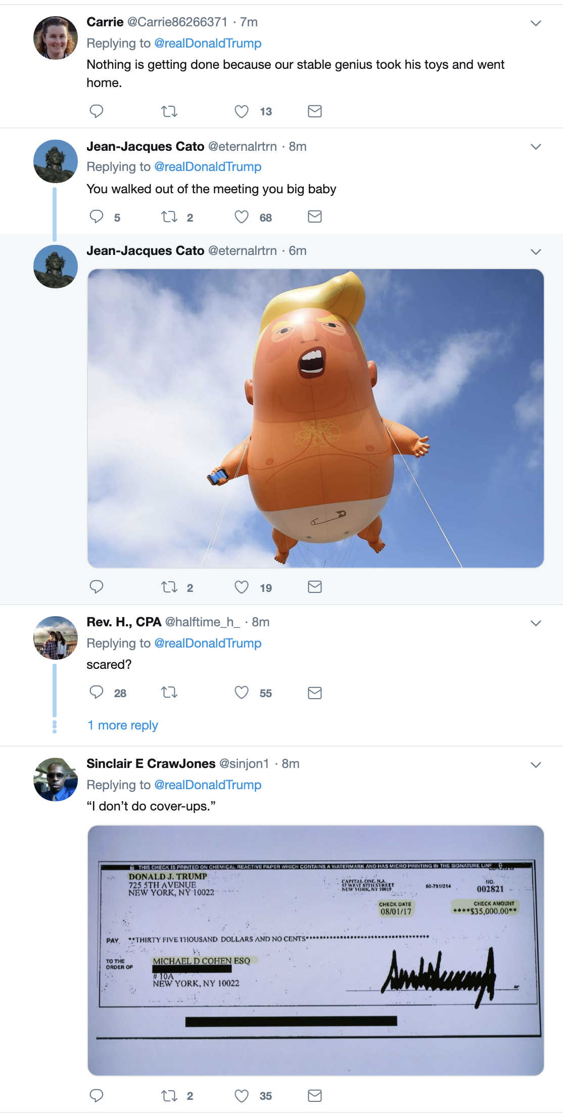 Screen-Shot-2019-05-23-at-7.05.48-AM Trump Acts A Fool On Twitter During Bizarre Pre-Dawn Freakout Corruption Crime Domestic Policy Donald Trump Election 2016 Election 2020 Politics Top Stories