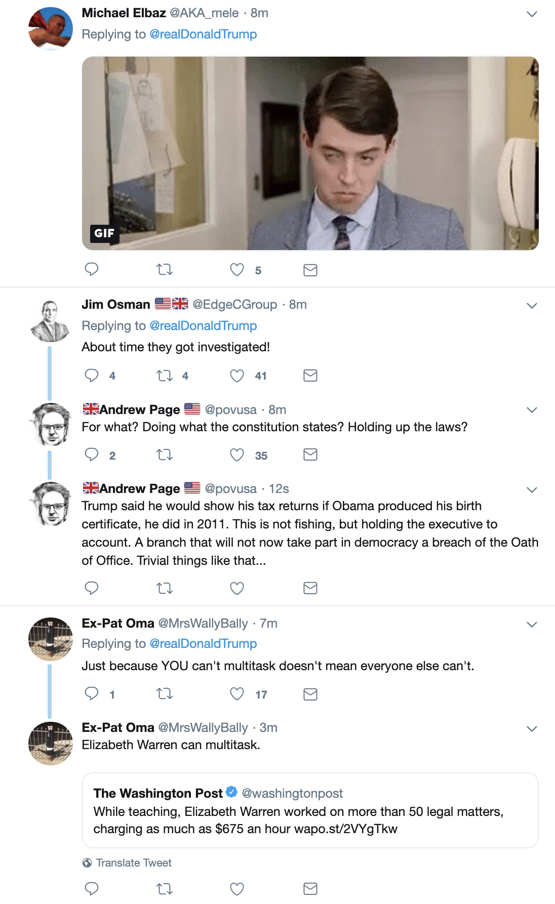 Screen-Shot-2019-05-23-at-7.10.38-AM Trump Acts A Fool On Twitter During Bizarre Pre-Dawn Freakout Corruption Crime Domestic Policy Donald Trump Election 2016 Election 2020 Politics Top Stories