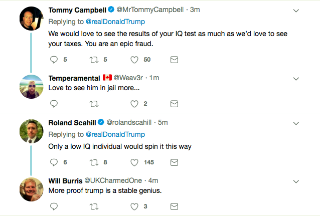 Screen-Shot-2019-05-28-at-6.05.45-PM Trump Attempts Afternoon Attacks On Joe Biden - Fails Miserably Donald Trump Featured Politics Top Stories Twitter