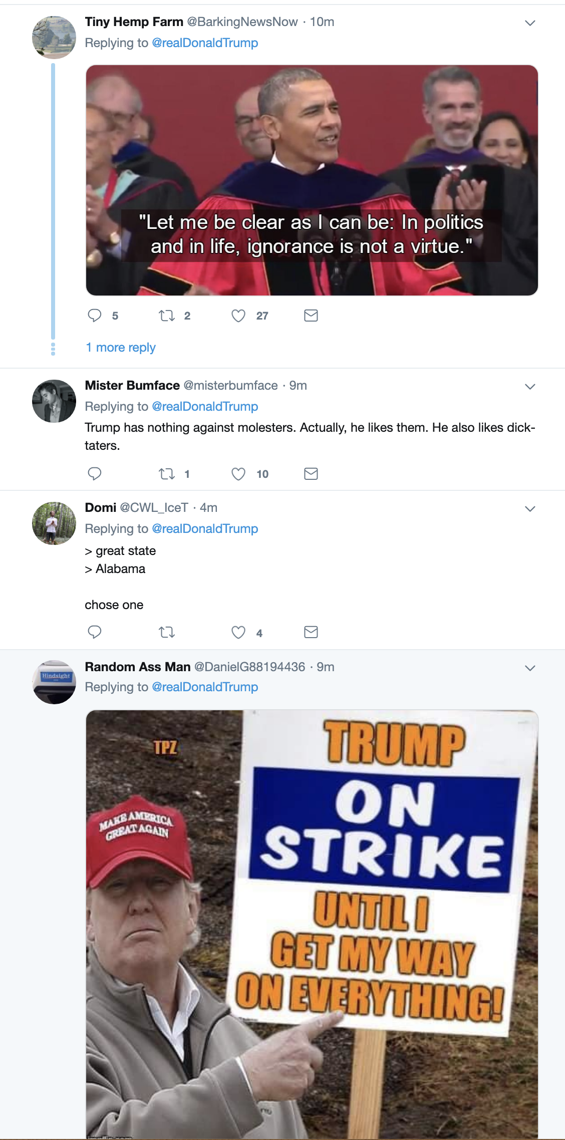 Screen-Shot-2019-05-29-at-6.51.47-AM Trump Issues Dire Warning To GOP During Early Morning Whine-Fest Child Abuse Corruption Crime Donald Trump Election 2020 Feminism Politics Top Stories Women's Rights