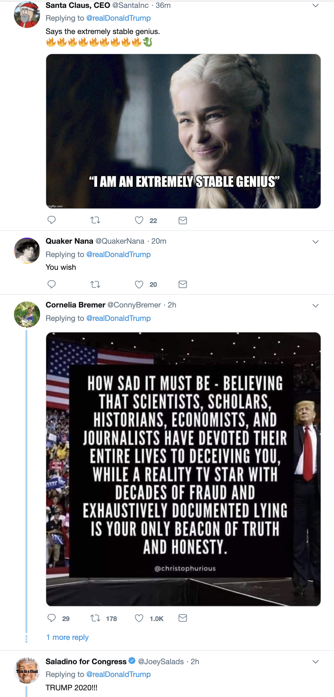 Screen-Shot-2019-05-30-at-1.30.18-PM Trump Tweets Arrogant Mueller Meme & Gets Eaten Alive Immediately Corruption Crime Donald Trump Election 2016 Impeachment Investigation Mueller Politics Robert Mueller Russia Top Stories
