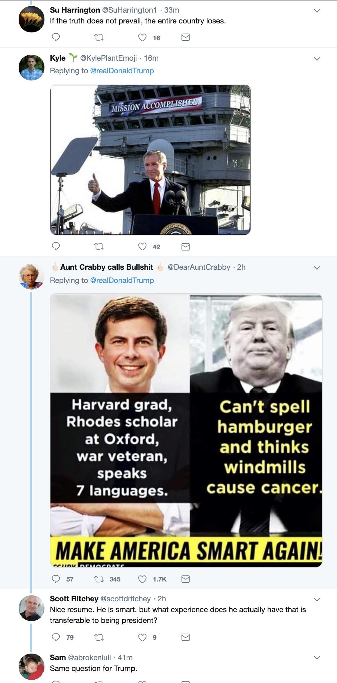 Screen-Shot-2019-05-30-at-1.30.59-PM Trump Tweets Arrogant Mueller Meme & Gets Eaten Alive Immediately Corruption Crime Donald Trump Election 2016 Impeachment Investigation Mueller Politics Robert Mueller Russia Top Stories
