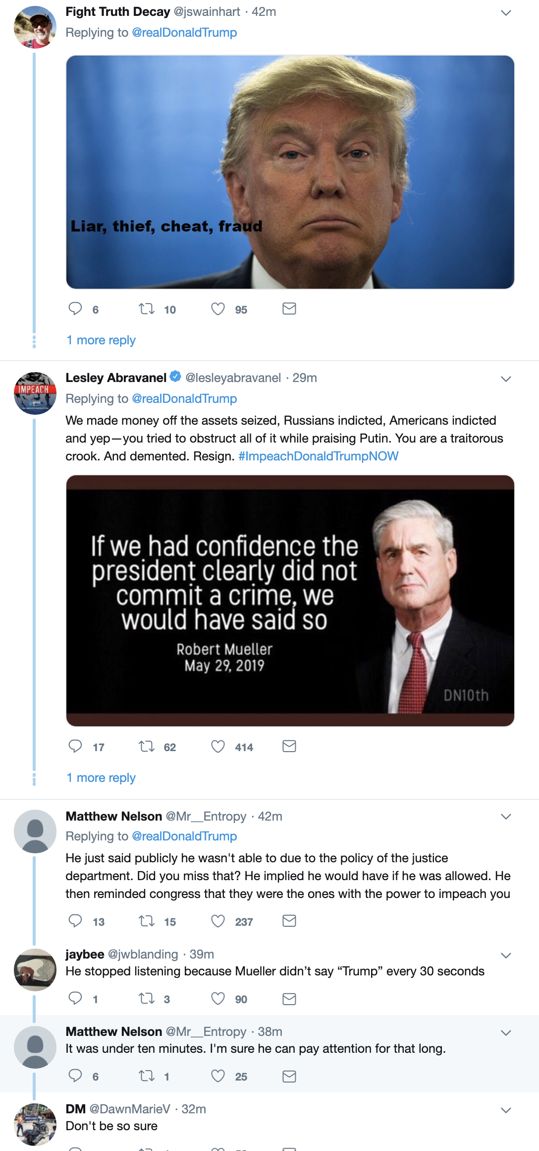 Screen-Shot-2019-05-30-at-7.07.29-AM Trump Awakens From Prison Nightmare To Post Psycho Mueller Rant Corruption Crime Donald Trump Election 2018 Election 2020 Immigration Impeachment Mueller Politics Robert Mueller Russia Top Stories