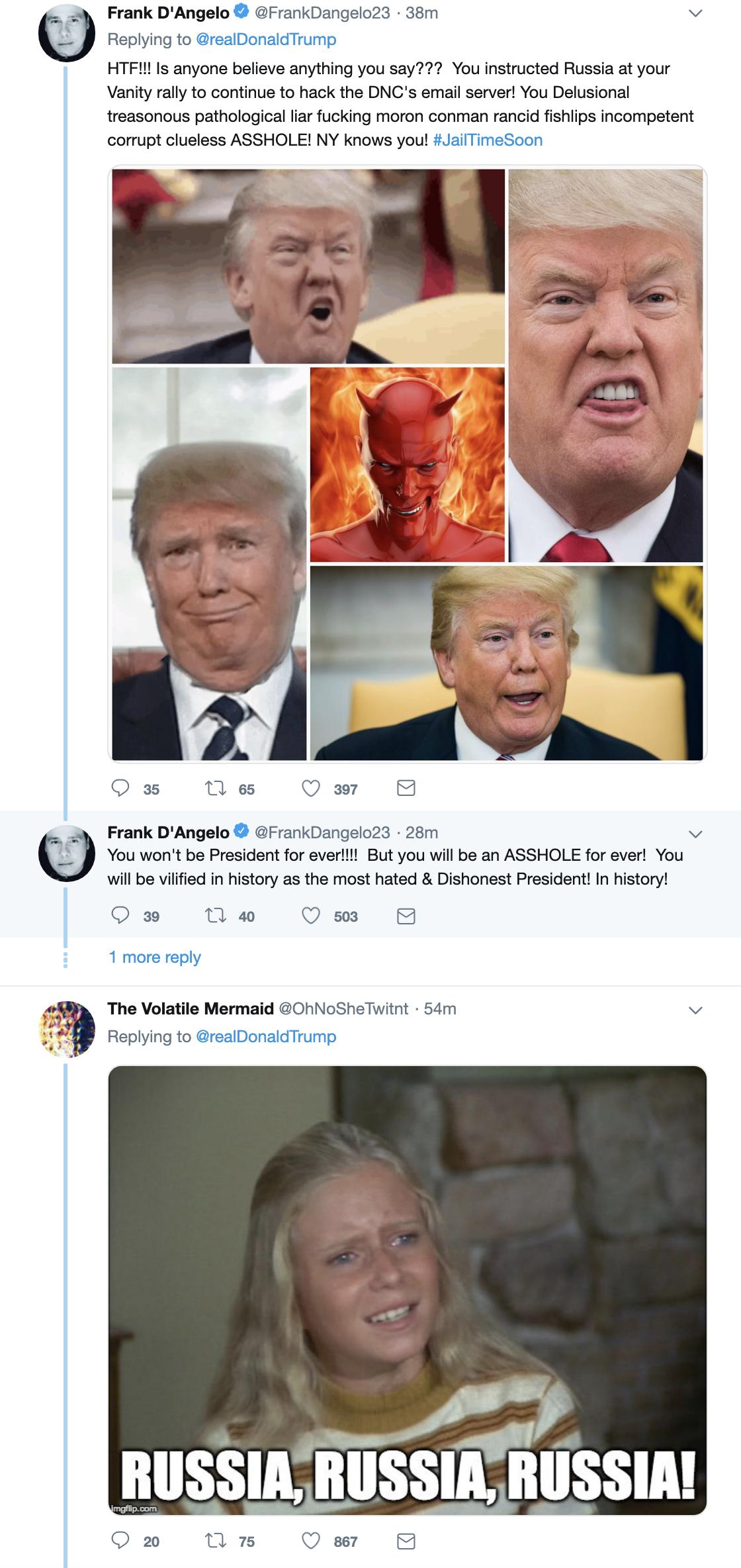 Screen-Shot-2019-05-30-at-8.36.59-AM Trump Denies AM Mueller Rant Moments After He Tweeted It (VIDEO) Corruption Crime Donald Trump Election 2016 Impeachment Investigation Mueller Politics Robert Mueller Russia Top Stories